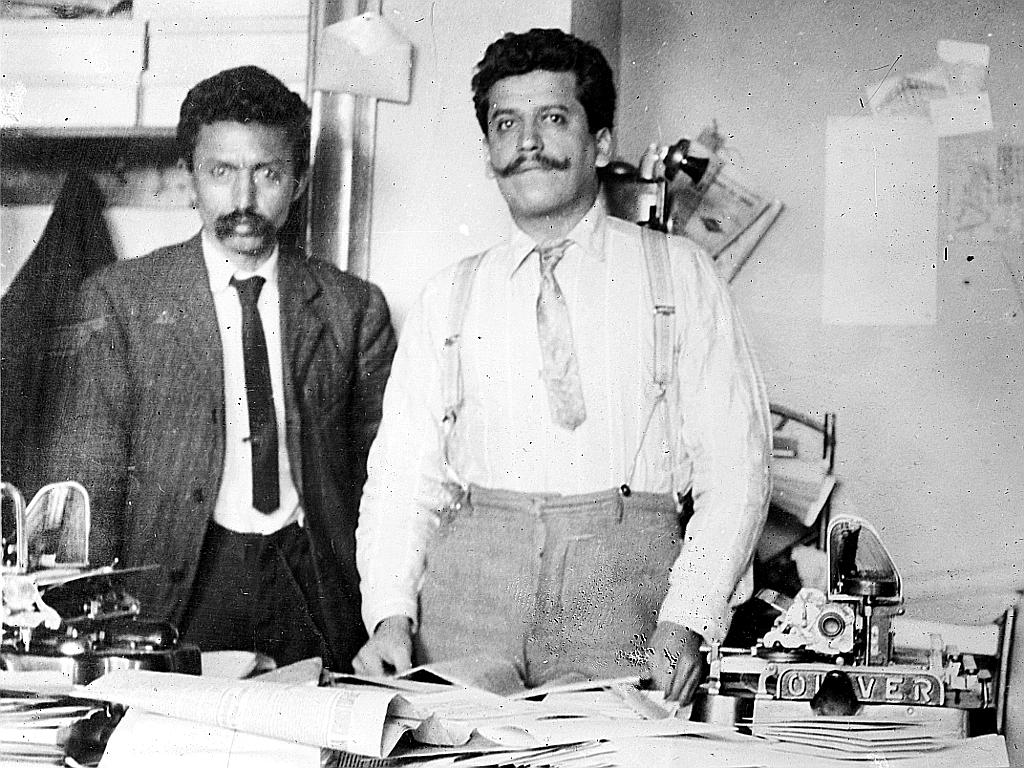 Librado Rivera y Ricardo Flores Magón