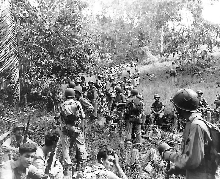 File:Marines rest in the field on Guadalcanal.jpg