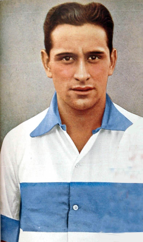 English: This is Arturo Naón. The top scorer o...