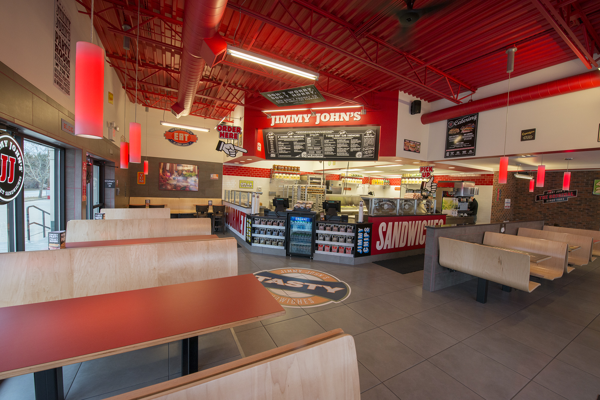FileJimmy John Store Interior With New Design Launched 2013 Champaign Illinoisjpg