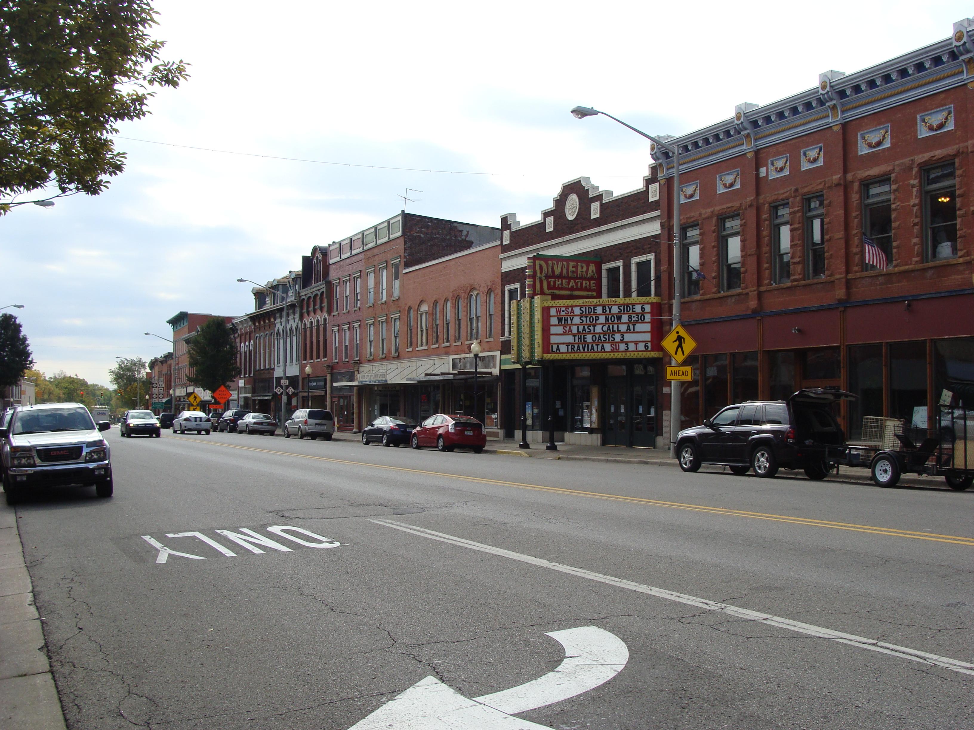 File Downtown Three Rivers Mi