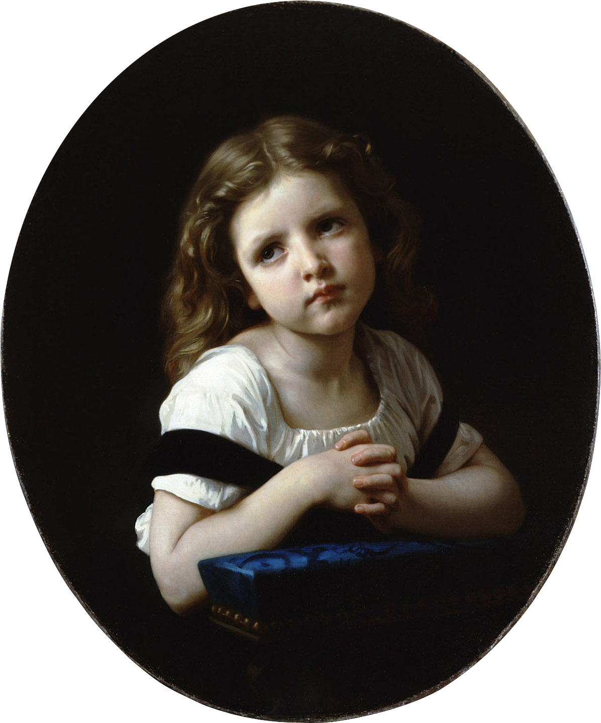 The Prayer by William-Adolphe Bouguereau