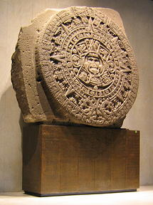 "English: The Aztec ""Calendar Stone""...."