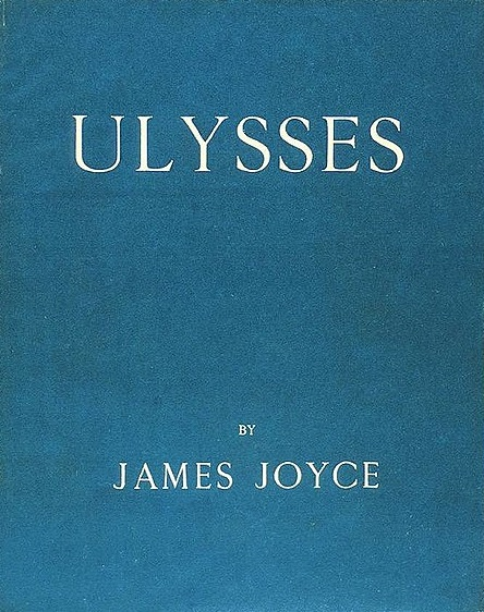 Portada de la primera edición de Ulysses (1922)