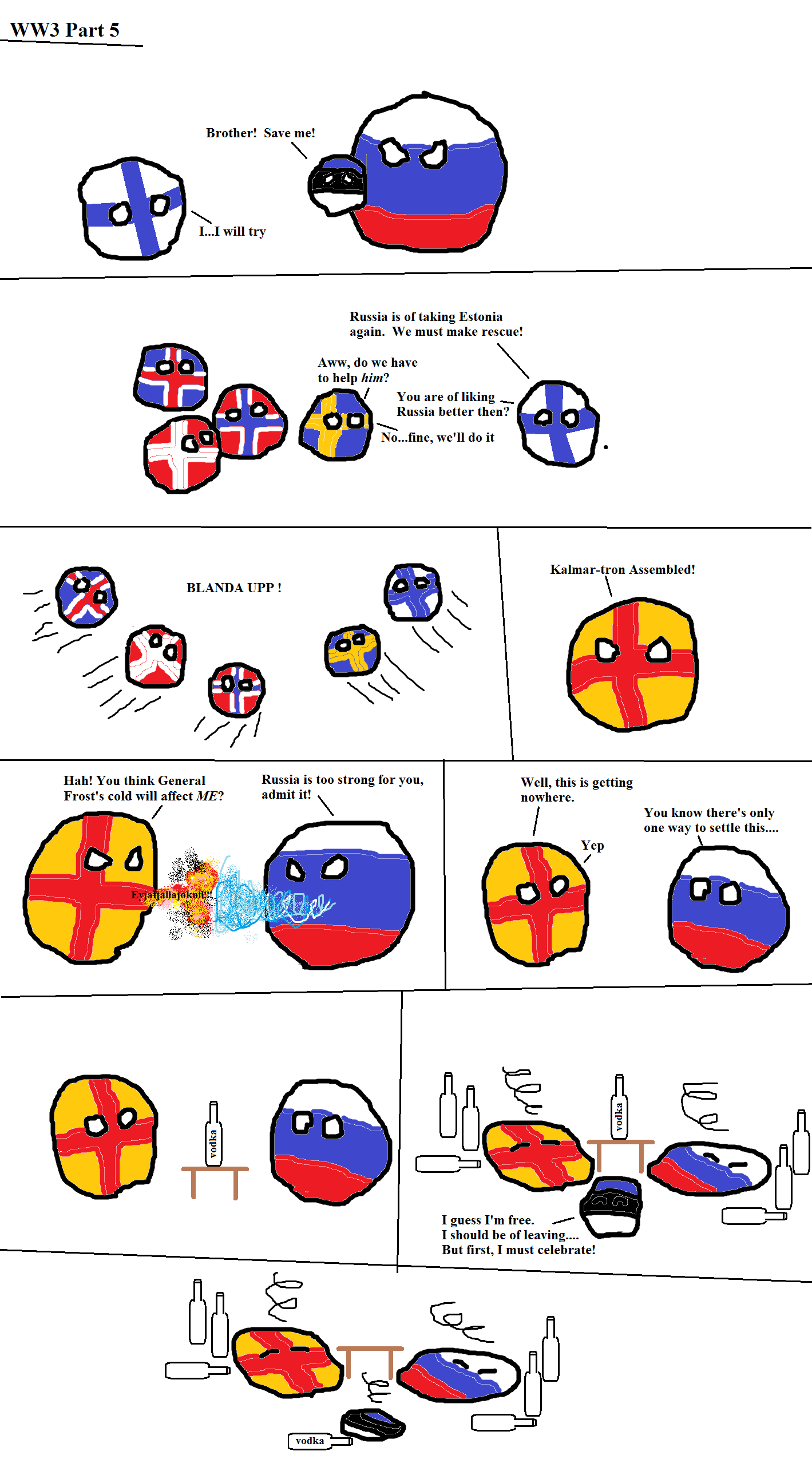 Spolecznosc Steam Cold War U S A And U S S R Countryballs