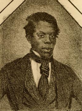 Portrait de William Henry Lane sans le blackface