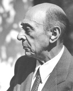 Arnold Schoenberg la 1948