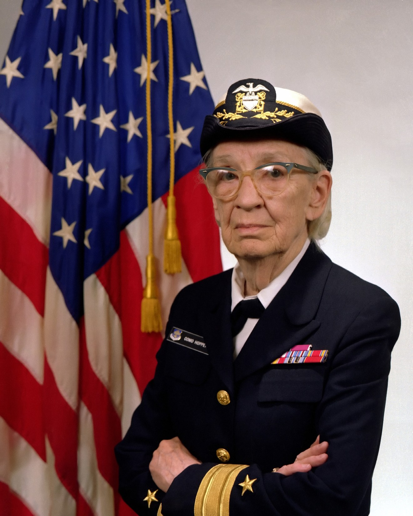 Photo of Admiral Gracie Hopper