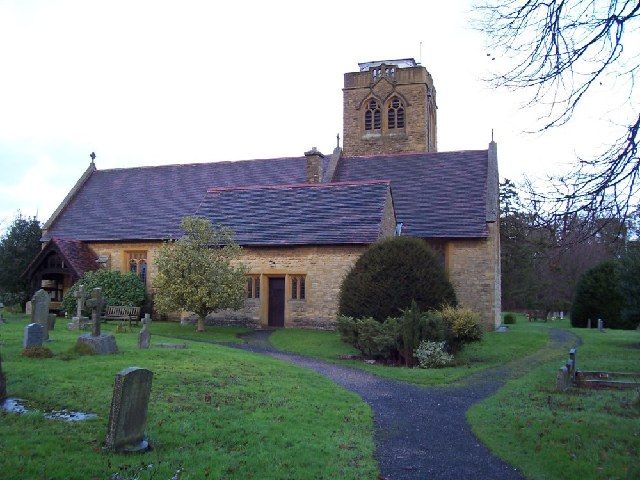 Parish church of the Holy Trinity and St Thomas of Canterbury, Ettington, Warwickshire