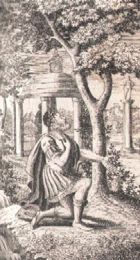 Numa Pompilius consulting Egeria.
