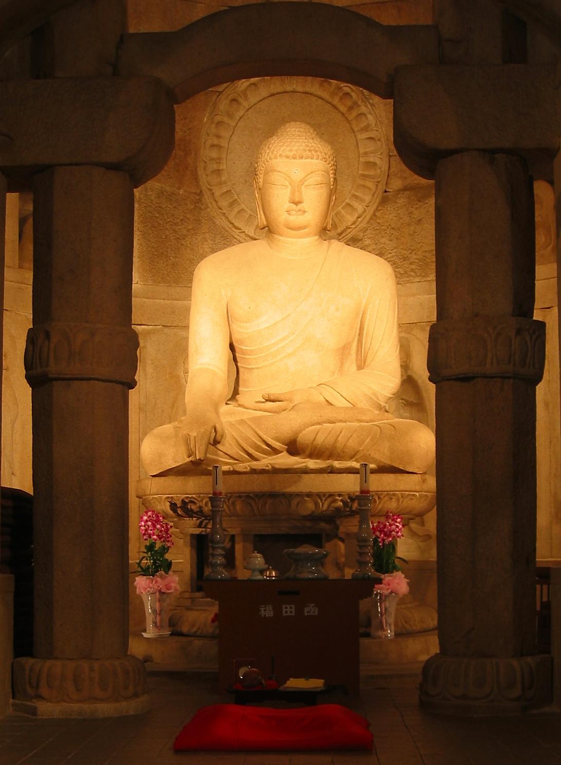 Seokguram Buddha - from Wikipedia