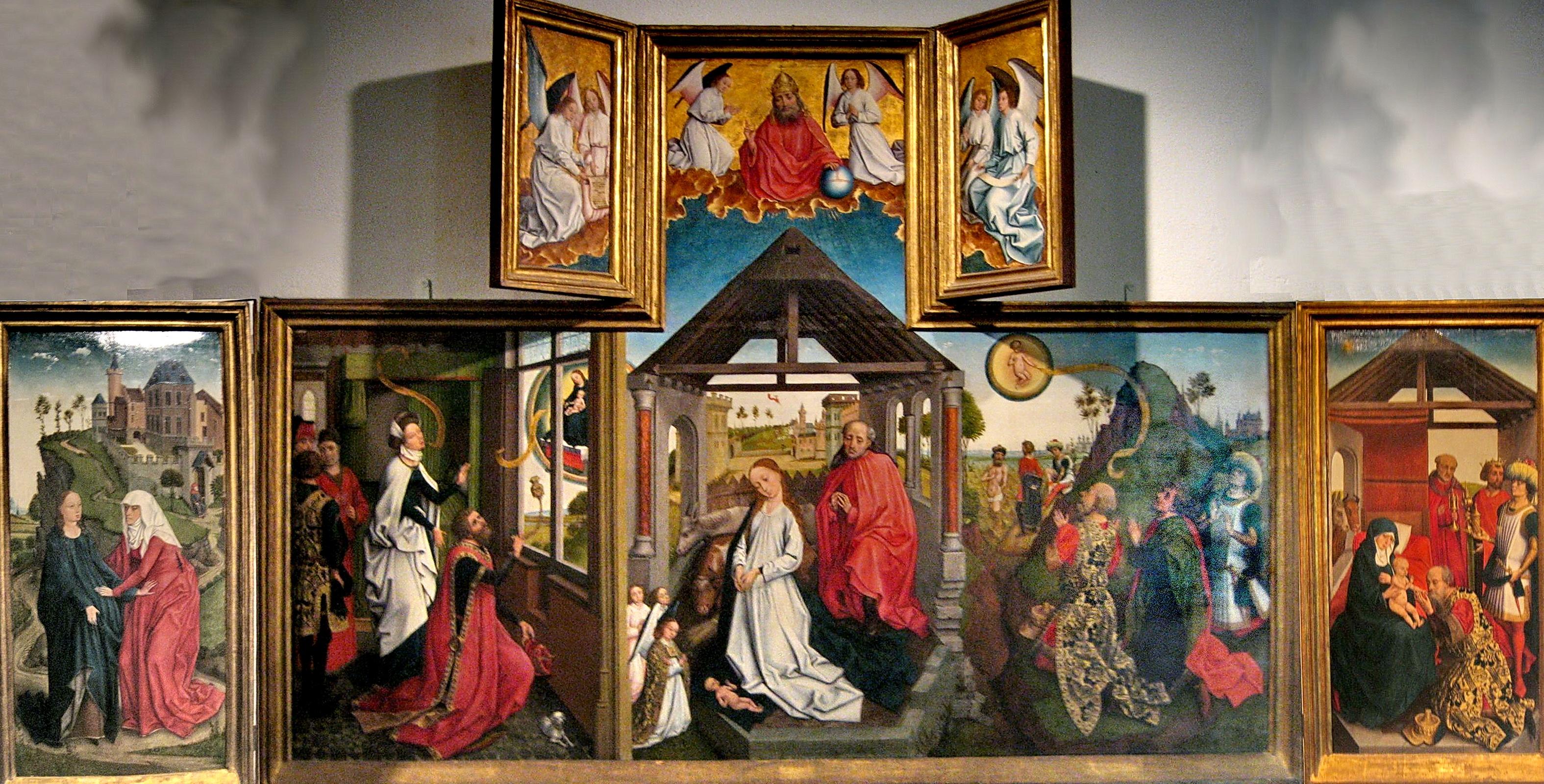 FileWorkshop Of Rogier Van Der Weyden Polyptych With