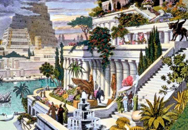 """Hanging Gardens of Babylon"""