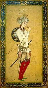 Arabic miniature depicting Hārūn al-Rashīd.