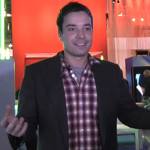 Fallon at the 2009 Consumer Electronics Show in Las Vegas