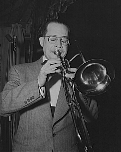 Juan Tizol, valve trombone player of Duke Elli...