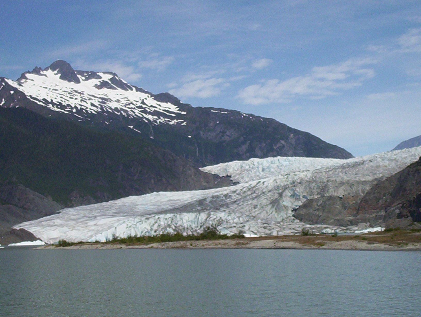 Mendenhall Glacier Alaska Photo By Sibley Hunter