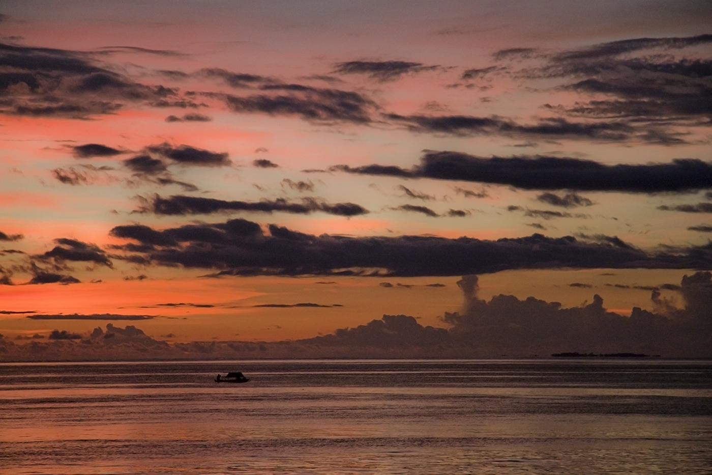 English: Today's sunset, Raja Ampat, West Papu...