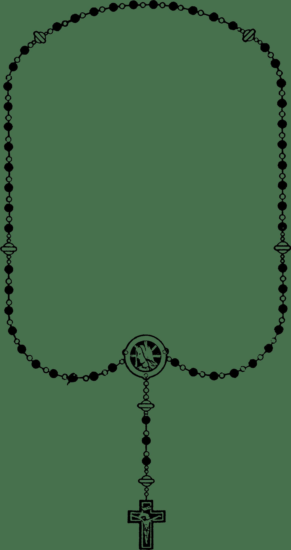 Archivo Rosary Black