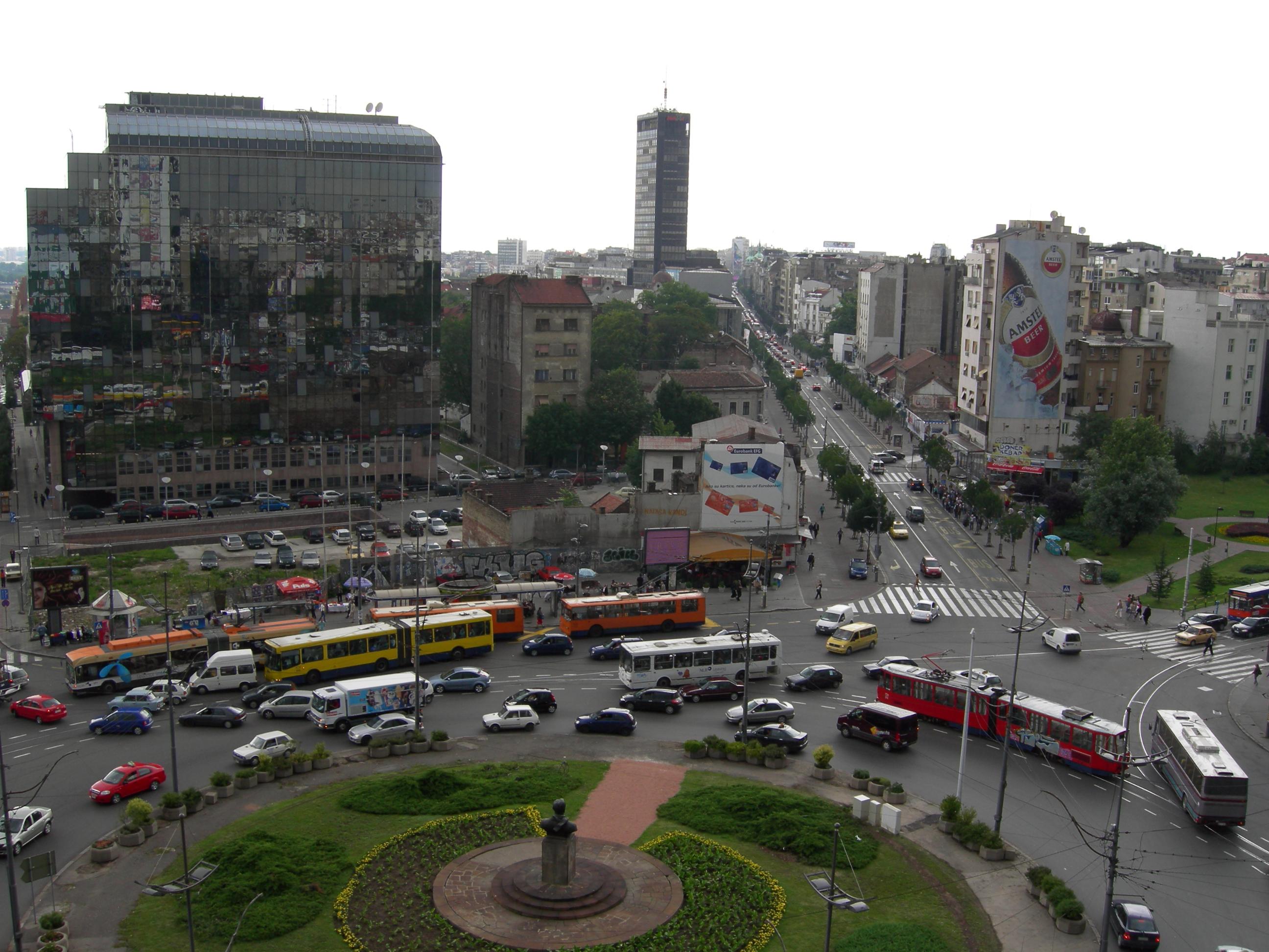 Slavija Square (Dimitrije Tucović Square)