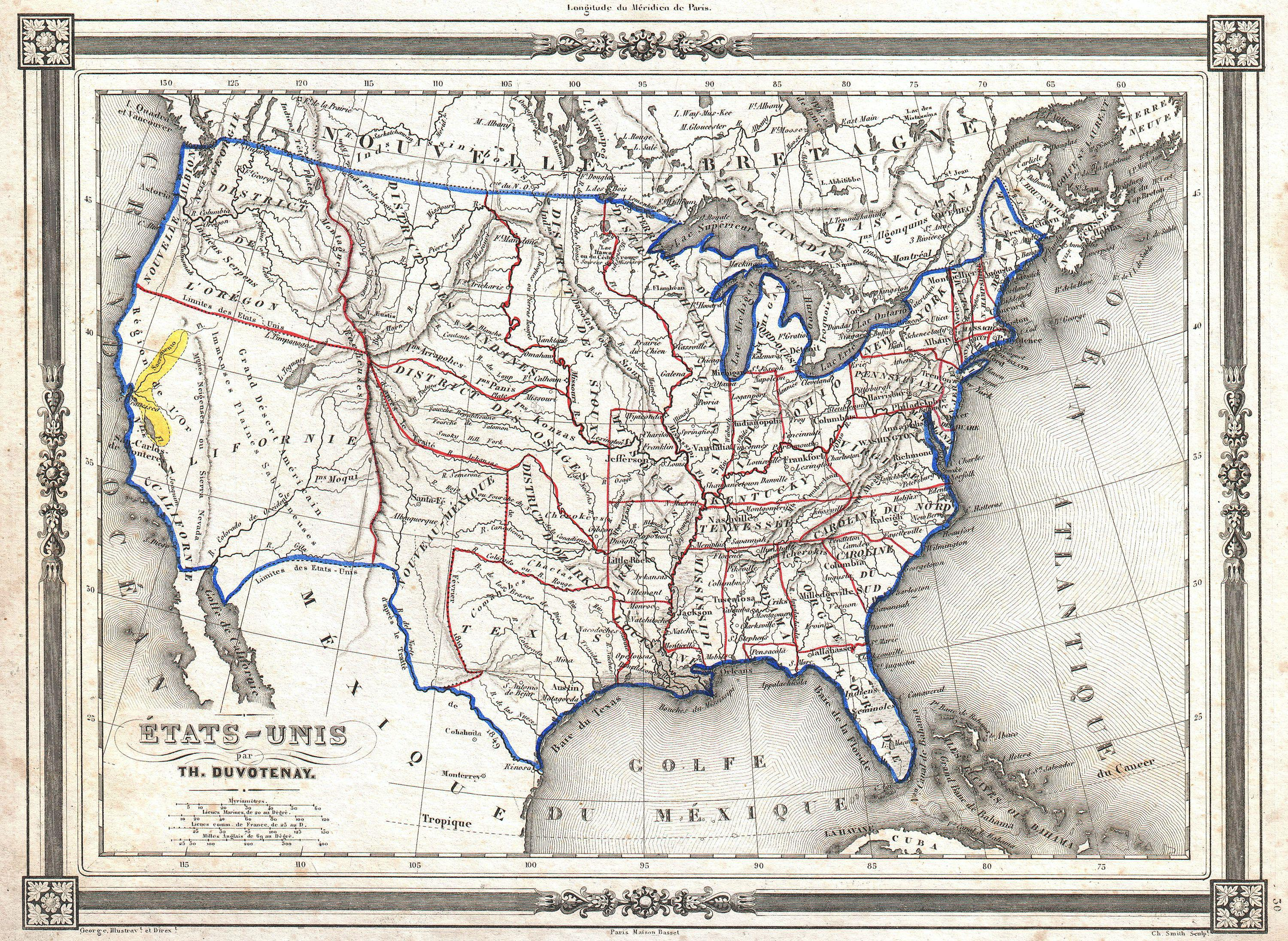 File Duvotenay Map Of The United States Gold Rush