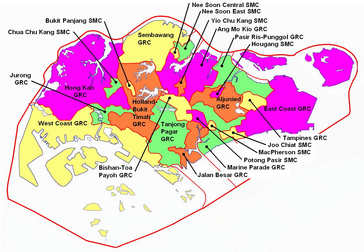 2006 Electoral Boundaries
