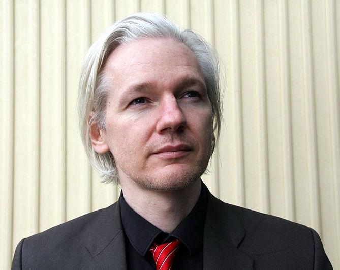 Julian Assange (Norway, March 2010) via Wikipedia