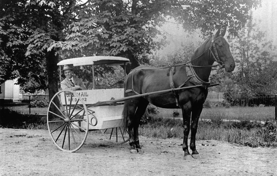 File Bill Boyd  Postal Carrier 1910  Beaverton  Oregon Historical     File Bill Boyd  Postal Carrier 1910  Beaverton  Oregon Historical Photo  Gallery