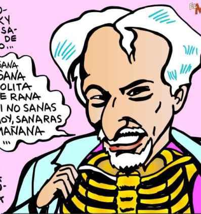 Jodorowsky psicomagia soto caricatura