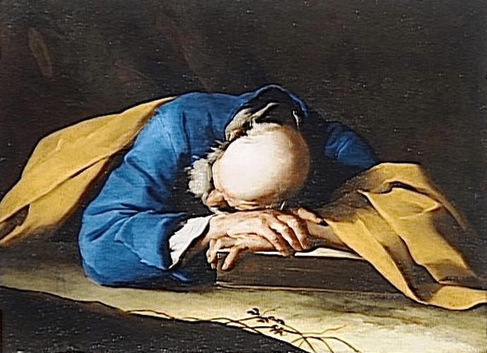 Petrini - Le sommeil de Saint Pierre