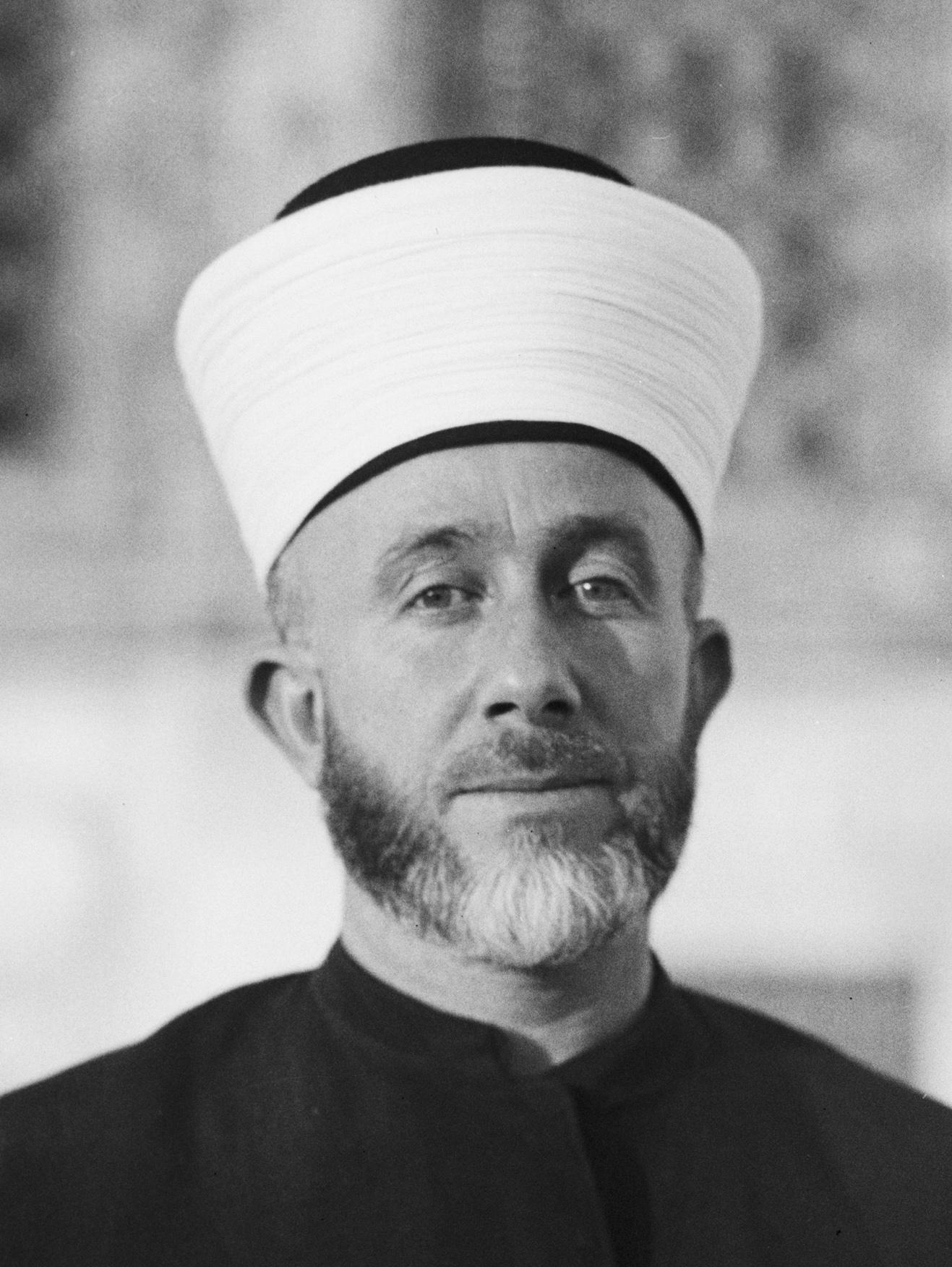 Haj Mohammed Effendi Amin el-Husseini (1895-1974)