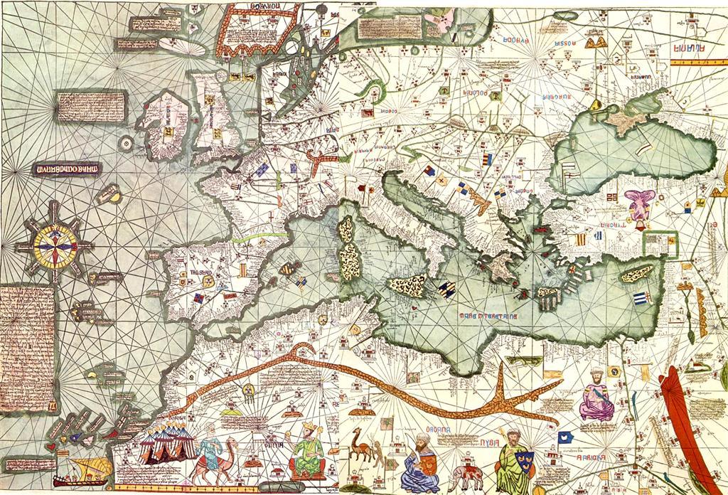 Atles d'Abraham Cresques. 1375