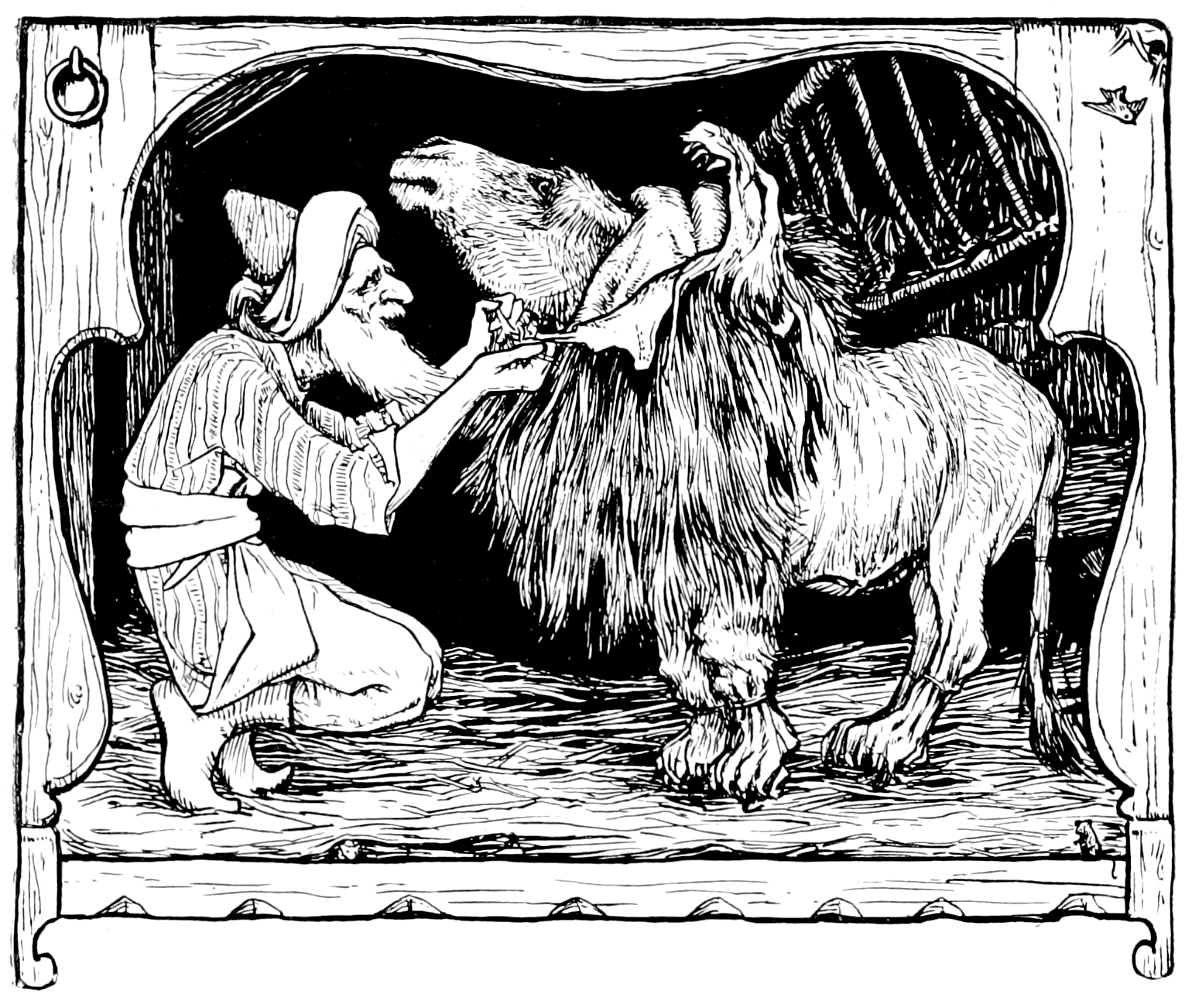 File Illustration Inset At Page 150 Of Indian Fairy Tales