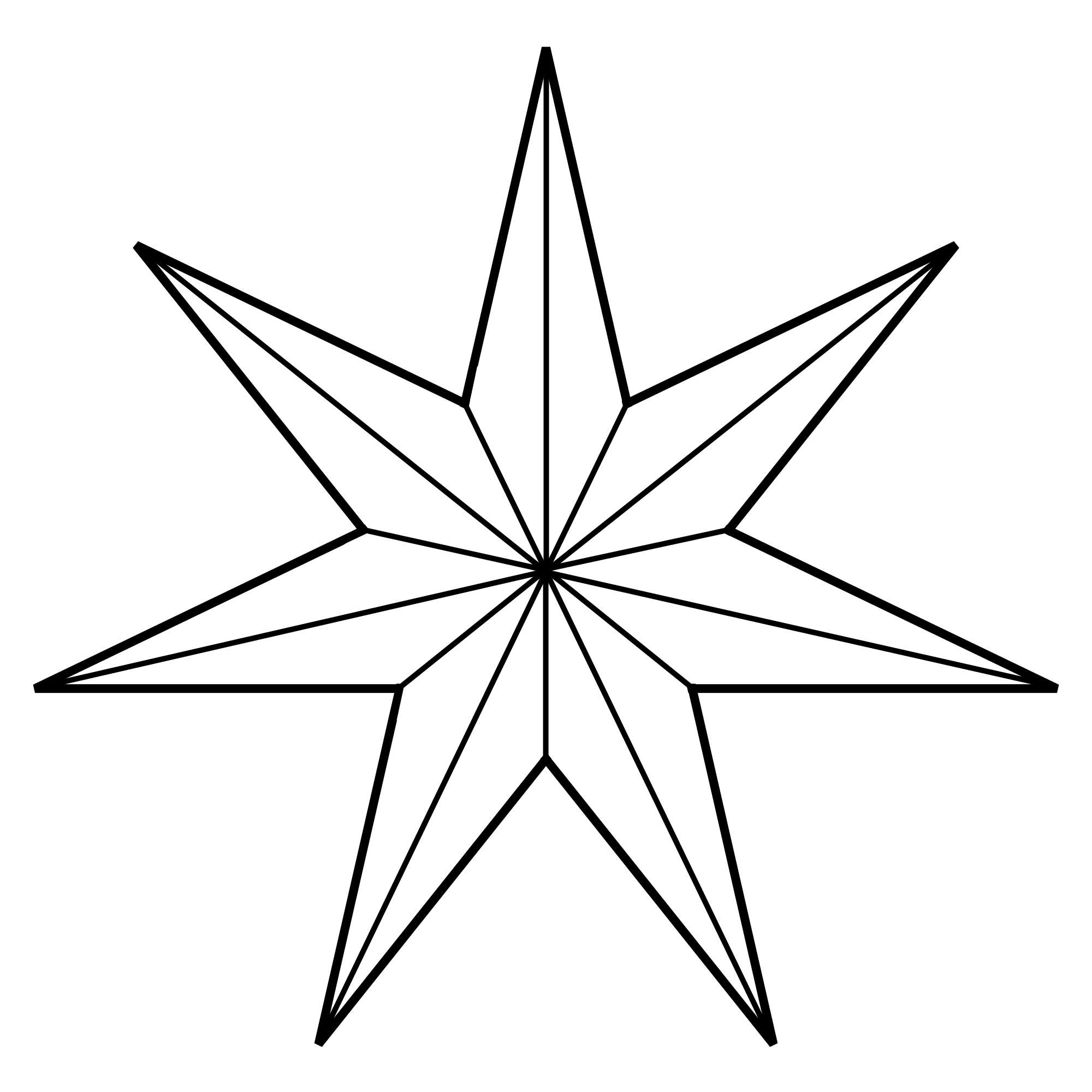 Star Of Bethlehem Coloring Page