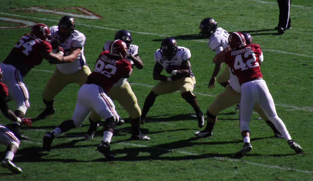 Alabama Football Defensive Line Size