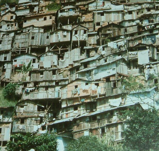 Hillside Slum