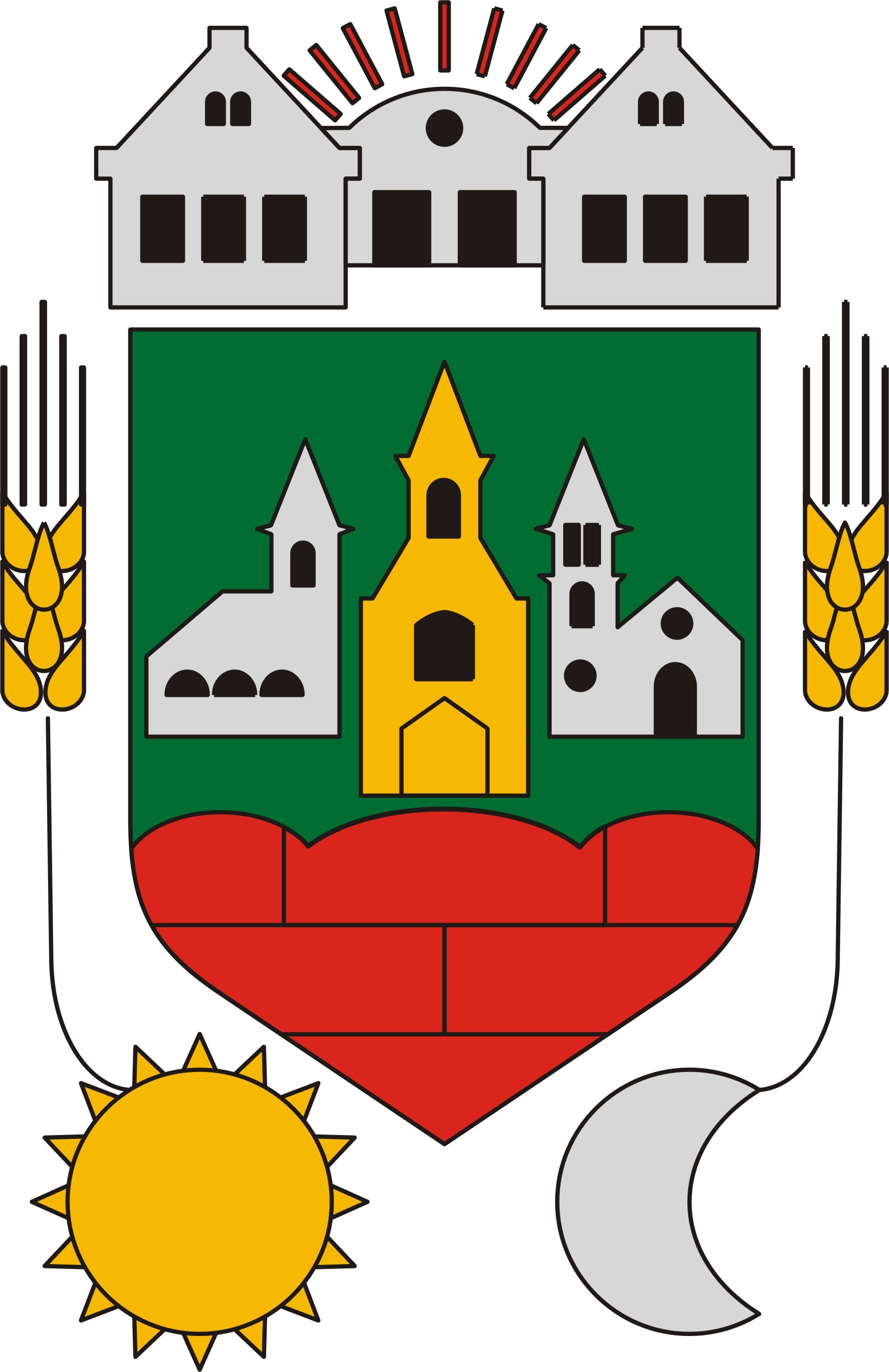Coat of arms of Szerecseny, Hungary