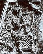 Maedoc book-cover, Ireland, circa 1000 AD: The...