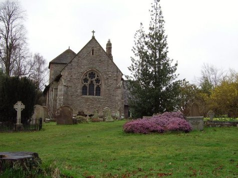 St Mary's parish church, Caynham, Shropshire