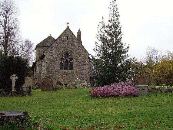St Mary's parish church, Caynham, Shropshire