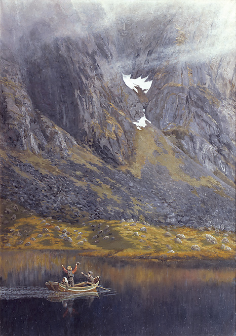 картина на Theodor Kittelsen