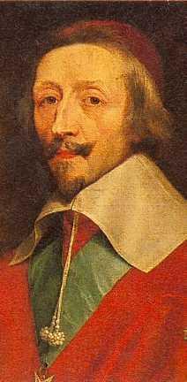 Richelieu, by Philippe de Champaigne (detail),...