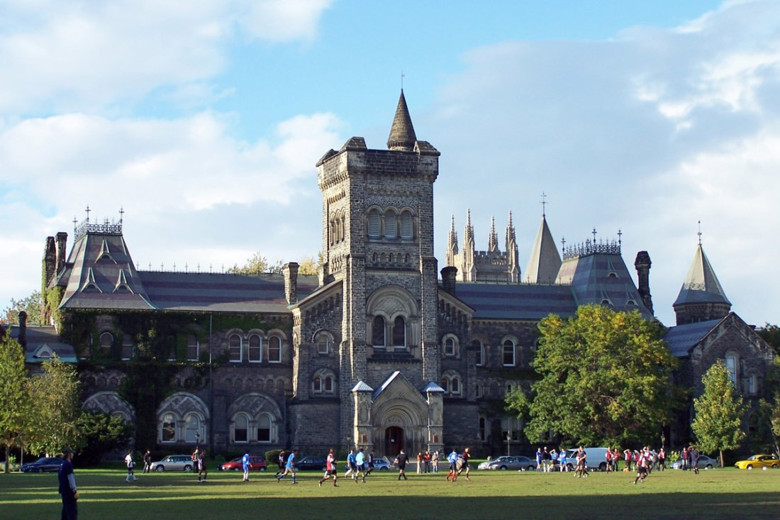 University of Toronto Main Building