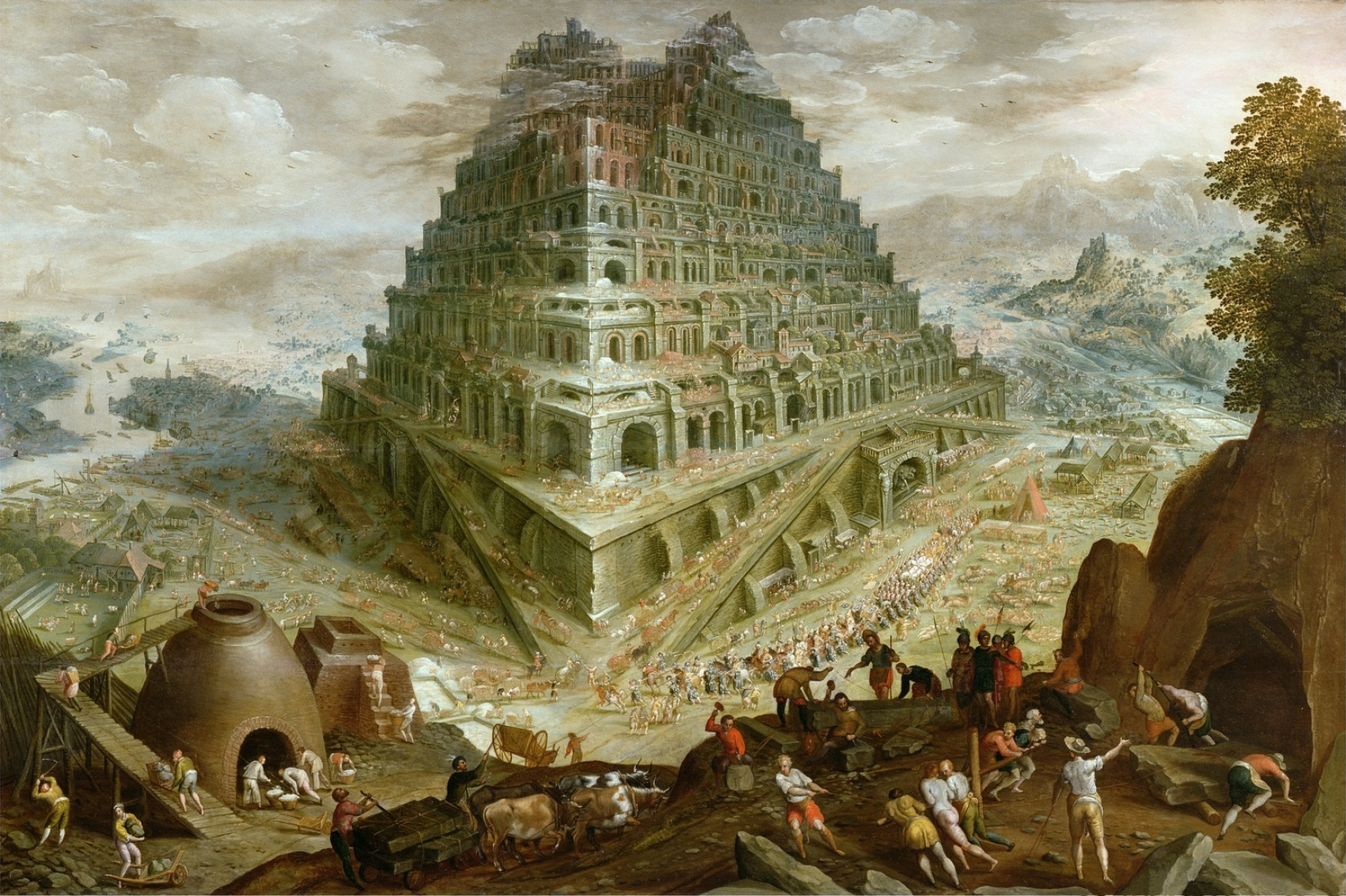 English: Tower of Babel