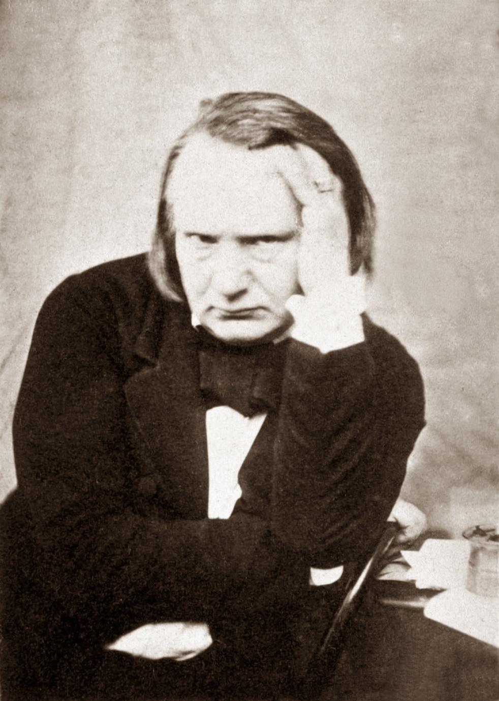 Photo of Victor Hugo Brooding