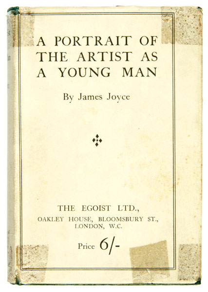 The potrait of the artist as a young man by James Joyce