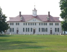 Photo of George Washington's Mount Vernon estate