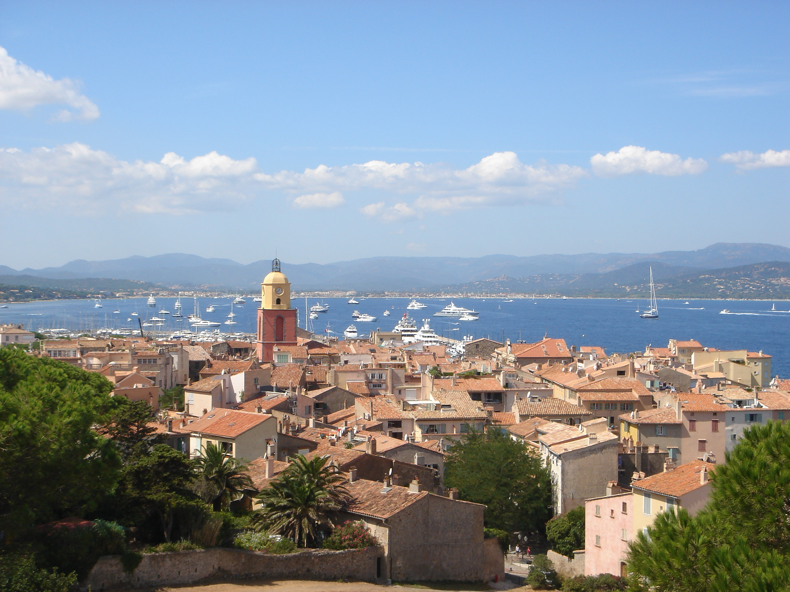 Saint Tropez -- city of luxury in South France