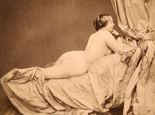 Reclining Nude: Auguste Belloc