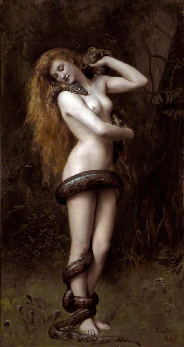 Lilith, retratada em 1892